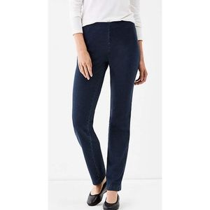"J. Jill ""purejill"" dark wash jean leggings"